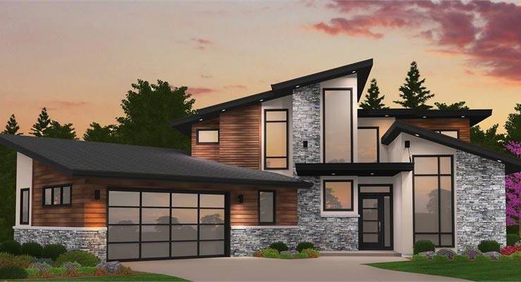 استفاده از شیشه و زاویه ها در معماری